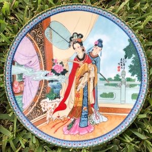 Other - Vintage Collectible Display Plate Japanese plate